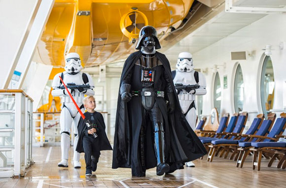 Disney Cruise Line and Star Wars Meet!